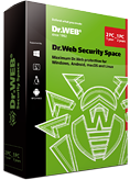 Dr.Web Security Space 2台电脑/Mac机/1年