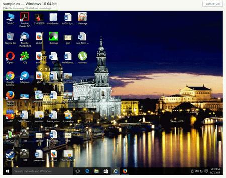 screenshot DrWeb vxCube #drweb